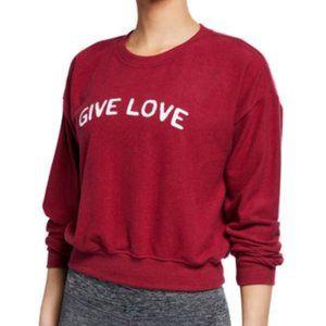 Spiritual Gangster Give Love Pullover Sweatshirt